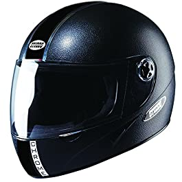 Studds Chrome Eco Full Face Helmet (Black, L 580MM)