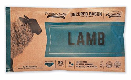 Lamb Uncured Bacon, 4pk