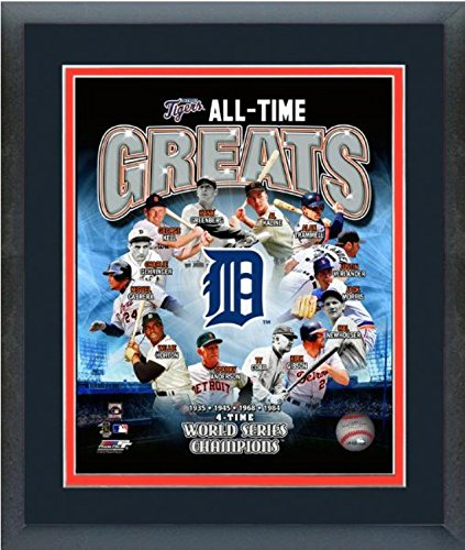 (Detroit Tigers All Time Greats Composite Photo (Size: 12.5