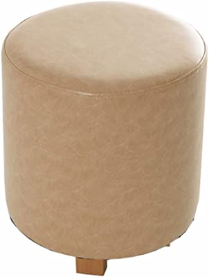 LJFYXZ Solid Wood Stool Living Room Simple and Stylish Short pier 31x35cm