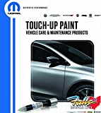 Chrysler Jeep Dodge Ram 4 in 1 Touch Up Paint Pen Brush Clear Coat Kit Mopar OEM (Bright White PW7)
