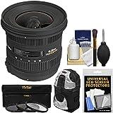 Sigma 10-20mm f/3.5 EX DC HSM Zoom Lens Case + 3 Kit Nikon D3300, D3400, D5500, D5600 D7100, D7200, D7500 DSLR Cameras
