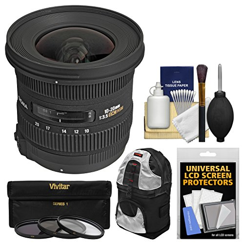 Sigma 10-20mm F3.5 EX DC HSM Wide angle lens for Nikon - 9