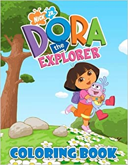 Dora The Explorer Coloring Book: Nickelodeon Junior Coloring Pages ...