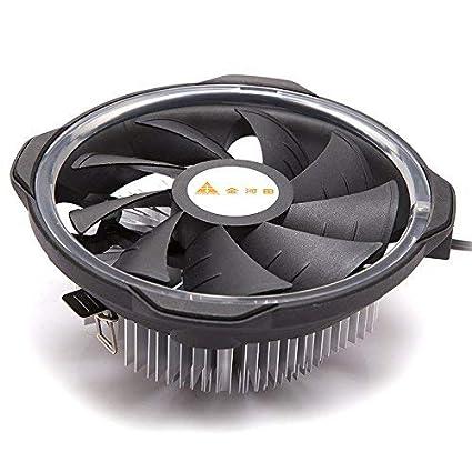 GOLDEN FIELD Mangkhut CPU Cooler CPU Air Cooling Cooler with RGB Fan Heatsink for Intel LGA 1151//1150//1155//1156 Sockets /& AMD AM4