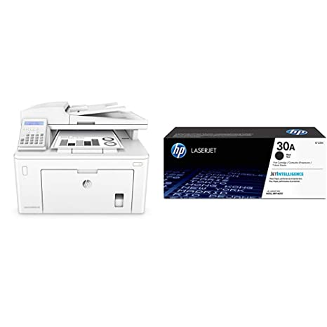 HP LaserJet Pro M227fdw All-in-One Wireless Laser Printer (G3Q75A) with Standard Yield Black Toner Cartridge