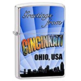 Zippo Greetings from Cincinnati Lighter