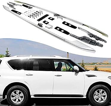 Fit 2015-2017 Toyota Highlander XLE Limited Roof Rack Pair Cross Bar Aluminum