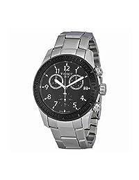 Tissot V8 Chronograph Black Dial Stainless Steel Mens Watch T0394172105700