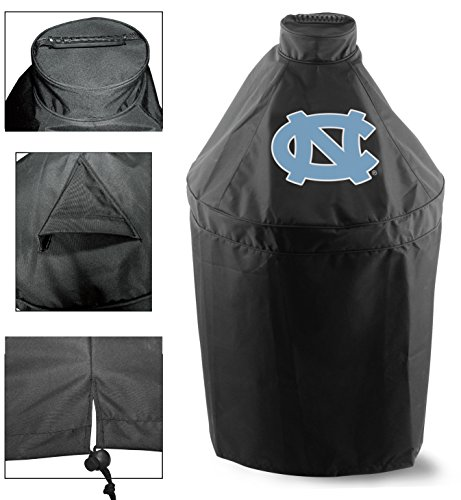 Holland Covers GC-K-NorCar Officially Licensed University of North Carolina Kamado Style Grill Cover ()