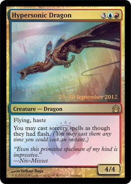 Magic: the Gathering - Hypersonic Dragon (170) - Prerelease & Release Promos - Foil