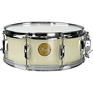 pearl vision birch snare drum ivory with chrome hardware 14x5 5 musical instruments. Black Bedroom Furniture Sets. Home Design Ideas