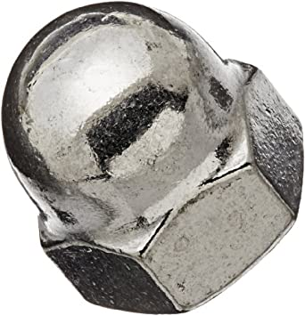 What Kind Of Nut Has A Hole >> 18 8 Stainless Steel Acorn Nut Right Hand Threads Inch Amazon Com