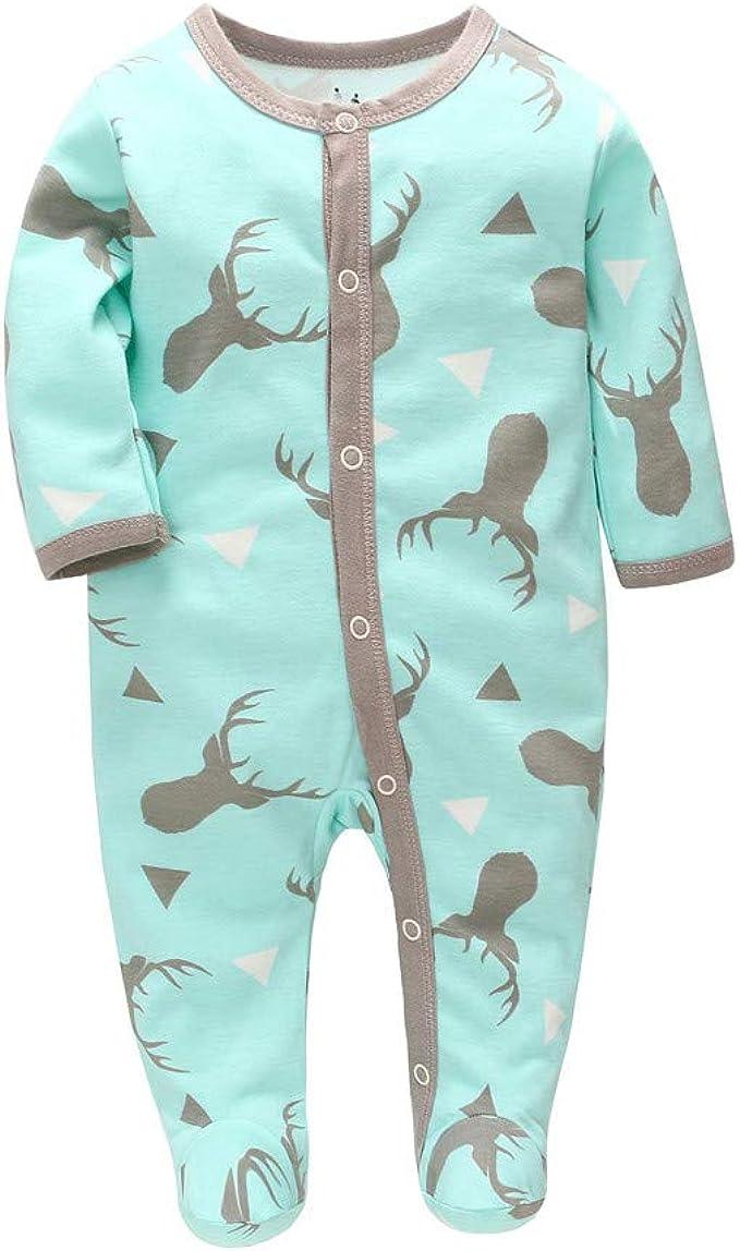 NEU Baby Strampler Schlafanzug Einteiler Overall Jungen Elefant