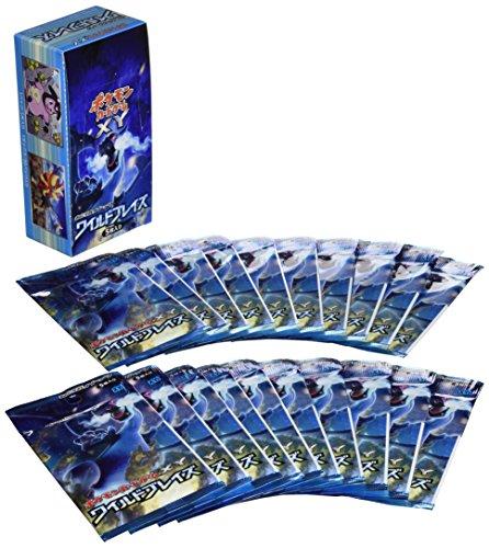 [해외] 포켓몬 카드 게임XY 확장 팩 와일드 블레이즈 BOX