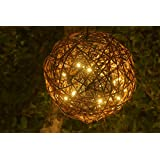 Natural Willow Branch LED Pendant Lamp By Willowbrite (12