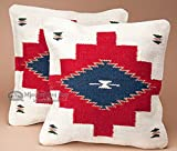 Mission Del Rey Southwestern Pillow Cover 18x18 -Coconino Pattern