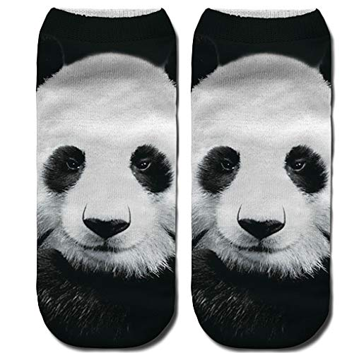 DOTBUY 3D Animal Novedad Calcetines, Hombres Mujer Unisexo Elástico Deportes Socks (A): Amazon.es: Ropa y accesorios