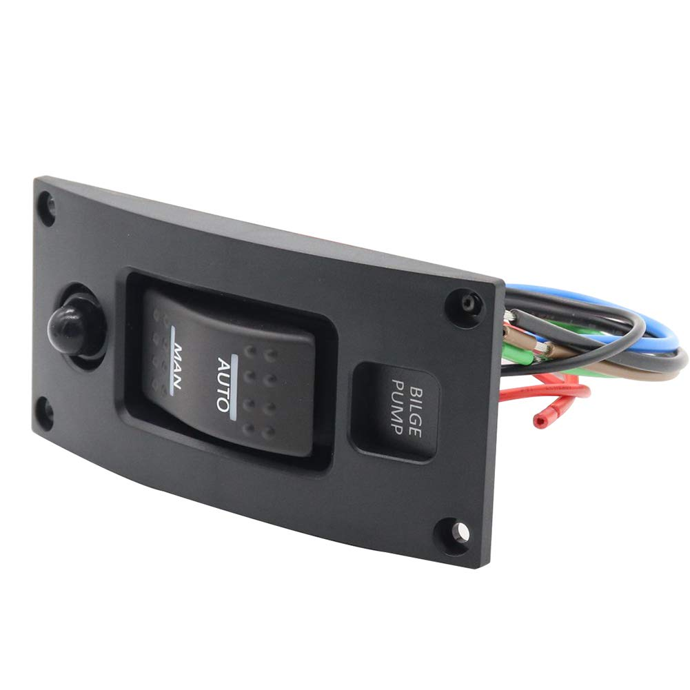 RONSHIN Auto 12-24 V Interruptor de Bomba de achique Alarma ...