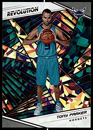 f45175d7 Amazon.com: 2018-19 Revolution Chinese New Year Red Parallel #14 Tony  Parker Charlotte Hornets Panini NBA Basketball Card: Collectibles & Fine Art