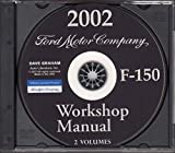 COMPLETE 2002 FORD F-150 TRUCK & PICKUP FACTORY WORKSHOP REPAIR SERVICE MANUAL CD For King Ranch Lariat Lightning XL XLT