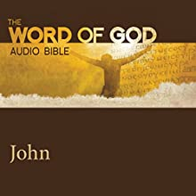 The Word of God: John Audiobook by  Revised Standard Version Narrated by Stacy Keach, Sean Astin, Kristen Bell, Julia Ormond, Malcolm McDowell, Brian Cox, Hill Harper, John Rhys Davies
