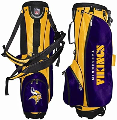 Amazon.com: Wilson Minnesota Vikings Golf Carry Bag: Sports ...