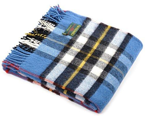 Kleid Thompson Tartan Wolle Reisen Teppich Picknick Decke – Tweedmill
