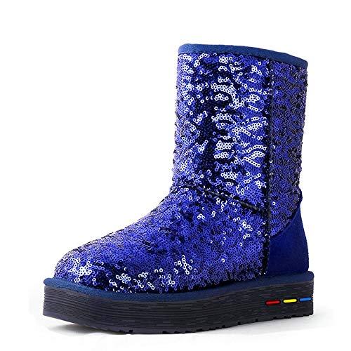 Fumak Cuculus Wholesale Australia Classic Women Snow Boots Women Cow Suede Winter Classic Boots 5827