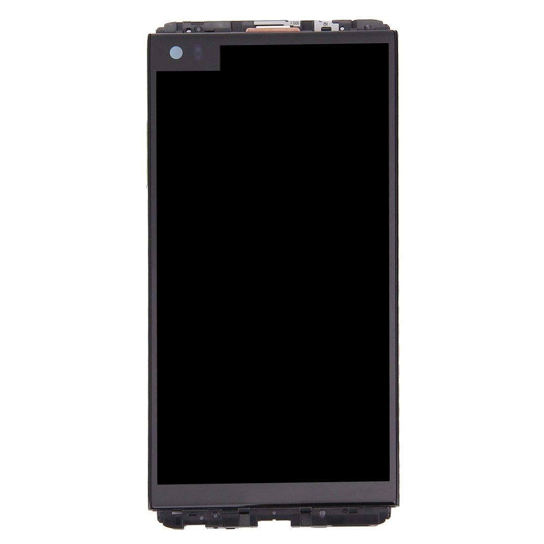 LCD Screen and Digitizer Full Assembly with Frame for LG V20 VS995 VS996 LS997 H910(Black) (Color : Black)