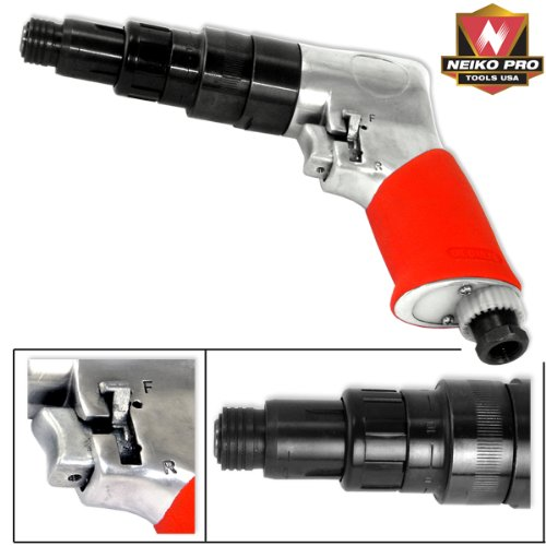 Pistol Grip Pneumatic Screwdriver - 1/4
