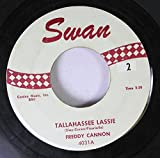 Freddy Cannon 45 RPM Tallahassee Lassie / You Know