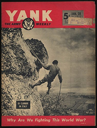 YANK 1/28 1944 Why This War? Arawe Attack Italy Mountain Training; Patricia Dane