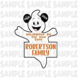 PERSONALIZED Disney Cruise Ghost Magnet. Handmade Halloween Disney Cruise Magnet.