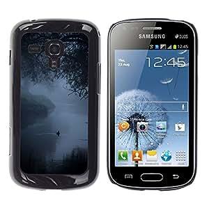 iKiki Tech / Estuche rígido - Fog Mist Lake Duck Nature Spring - Samsung Galaxy S Duos S7562