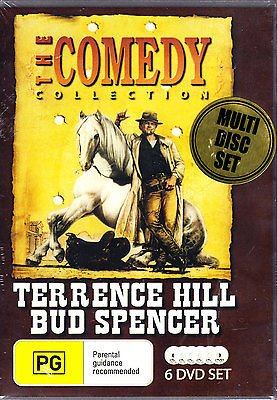 Terence Hill and Bud Spencer: Two Partners and a Dupe / Blackie the Pirate / I'm for the Hippopotamus / Lucky Luke / Mr Billion / Watch Out We're Mad