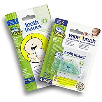 Amazon Com Brush Baby Dental Wipes 28 Value Pack Of 2