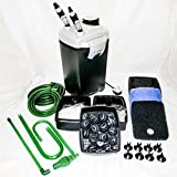 Hidom External Aquarium Canister Filter System 28w 1200 LPH - EX-1200 - Media Included