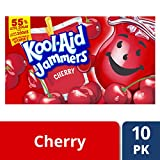 Kool-Aid Jammers Cherry, 10 ct, 6 oz