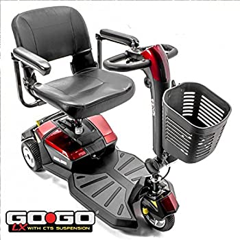 Amazon com: Pride Mobility - Go-Go LX with CTS Suspension