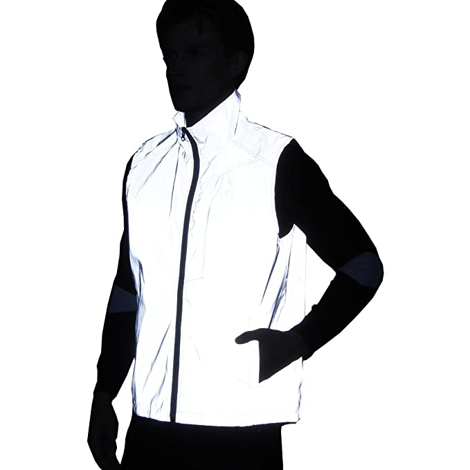 2018 Hombres Mujeres 3M Chaleco Reflectante Chaqueta Casual ...