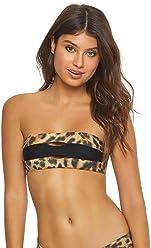 57ee7fe62f PilyQ Women s Jungle Bandeau Bikini Top