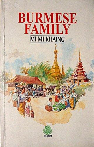 - Burmese Family