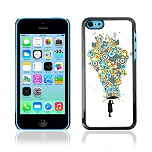 Designer Depo Hard Protection Case for Apple iPhone 5C / Cool Bubble Thoughts