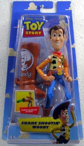 Disney Pixar Toy Story 5 Inch Action Figure Snake Shootin Woody