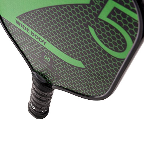 Onix Z5 Graphite Pickleball Paddle and Paddle Cover (Green) by Onix (Image #2)