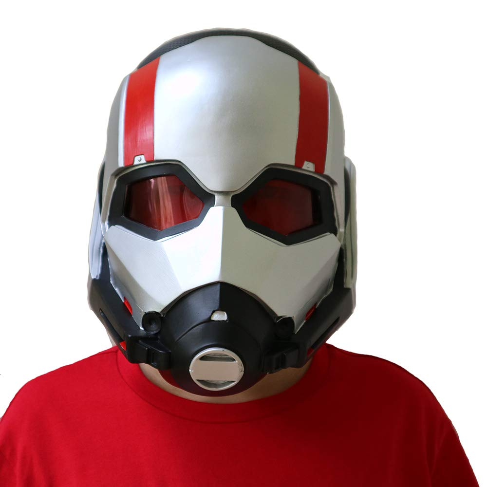 Amazon.com: yacn Ant-Man Mask for Cosplay Costume,Ant-Man Scott Lang Mask Teeny,Adult Cosplay Helmet as Halloween Dress up: Clothing