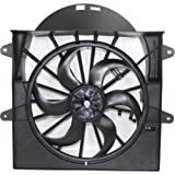 Make Auto Parts Manufacturing - RADIATOR/AC CONDENSER COOLING FAN ASSEMBLY; 3.7L/4.7L ENGINE - CH3117102
