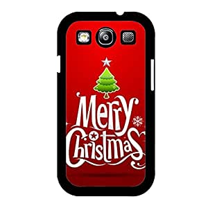 Merry Christmas Logo Pattern Fashion Classical Mobile Phone Case Cover for Samsung Galaxy S3 I9300 (Merry Christmas)