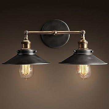 Lámpara de pared Luces de Pared del LED Luces de Pared Creativas rústicas retras para Decorar Dormitorios de Noche Pasillos Pasillos Accesorios de ...